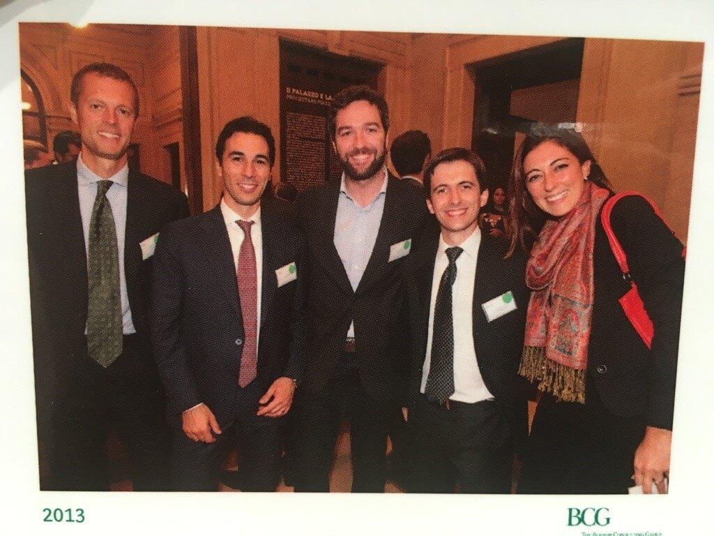Tronci with BCG Alumni